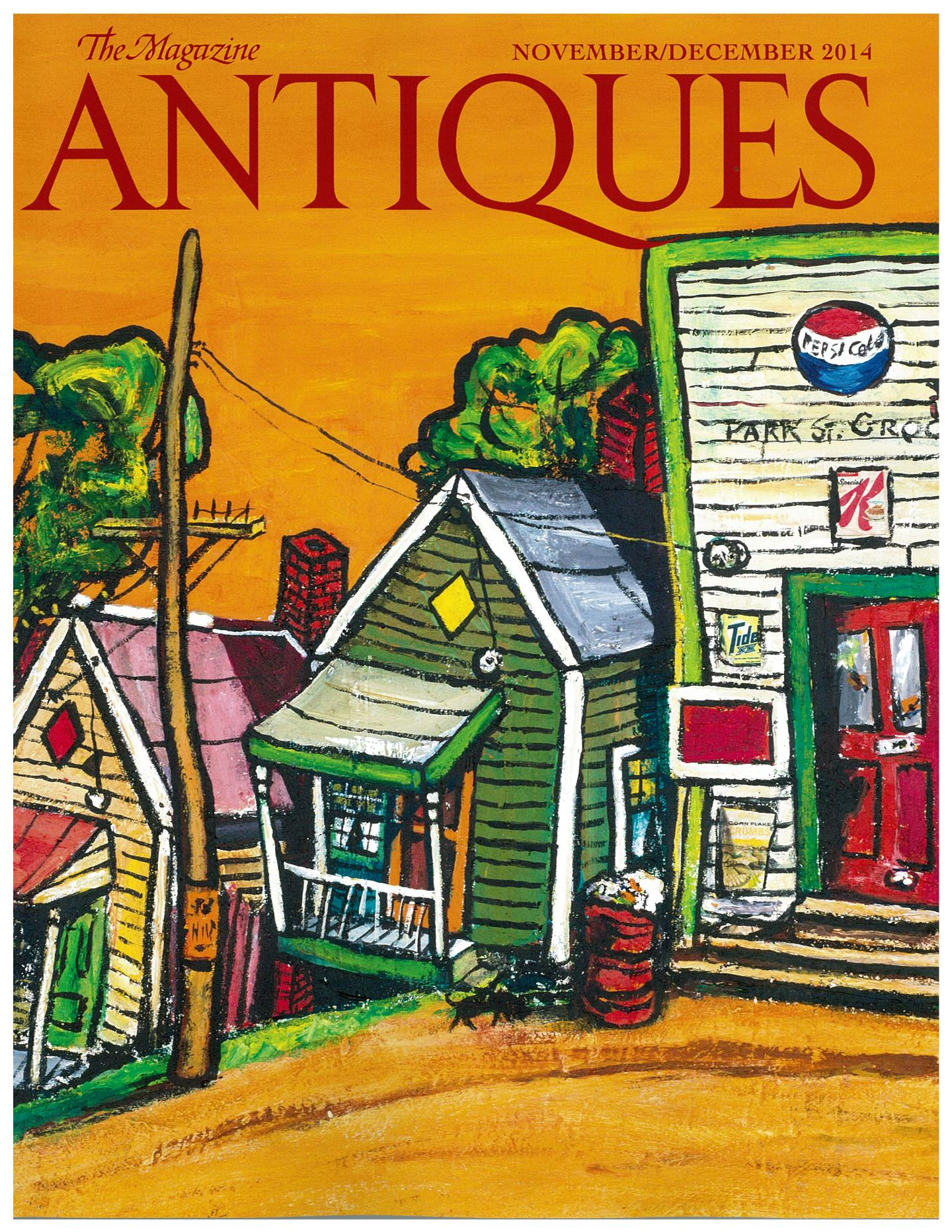Magazine Antiques Cover